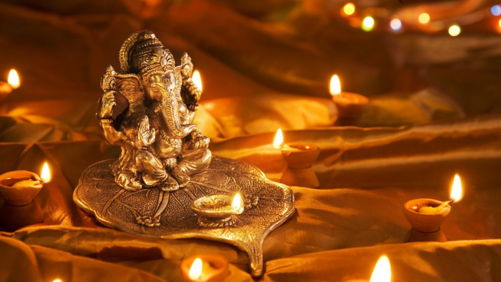 god-ganesh-at-diwali-festival